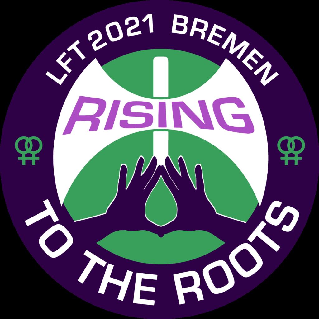 Logo des Lesbenfrühlingstreffen für alle frauenliebenden Frauen · 21. – 23. Mai 2021 · Bremen