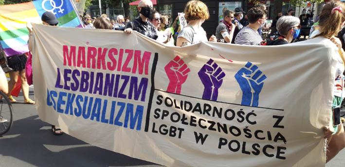 Demoplakat LGBT Polen