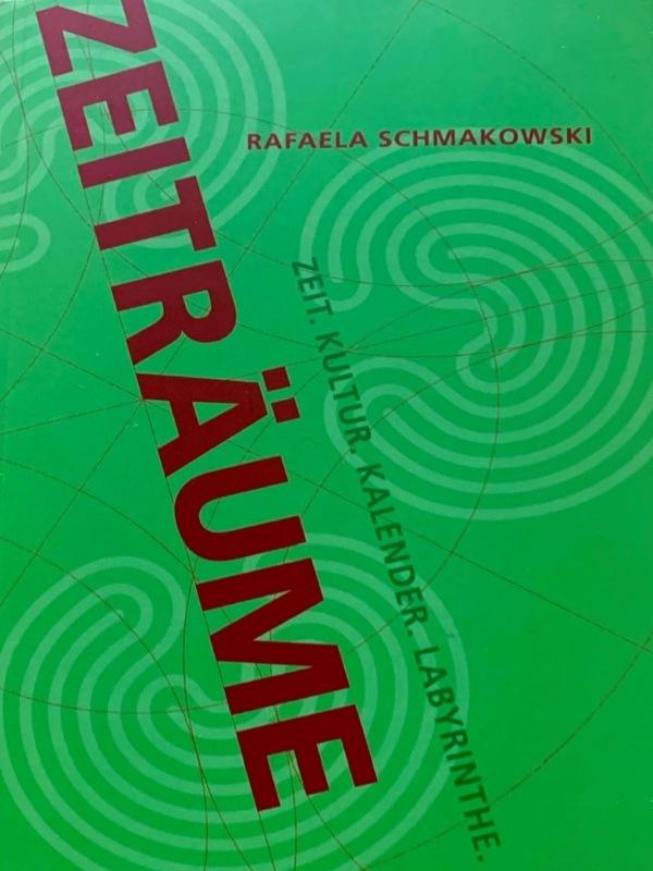 Buchcover Zeitraeume von Rafaela Schmakovski