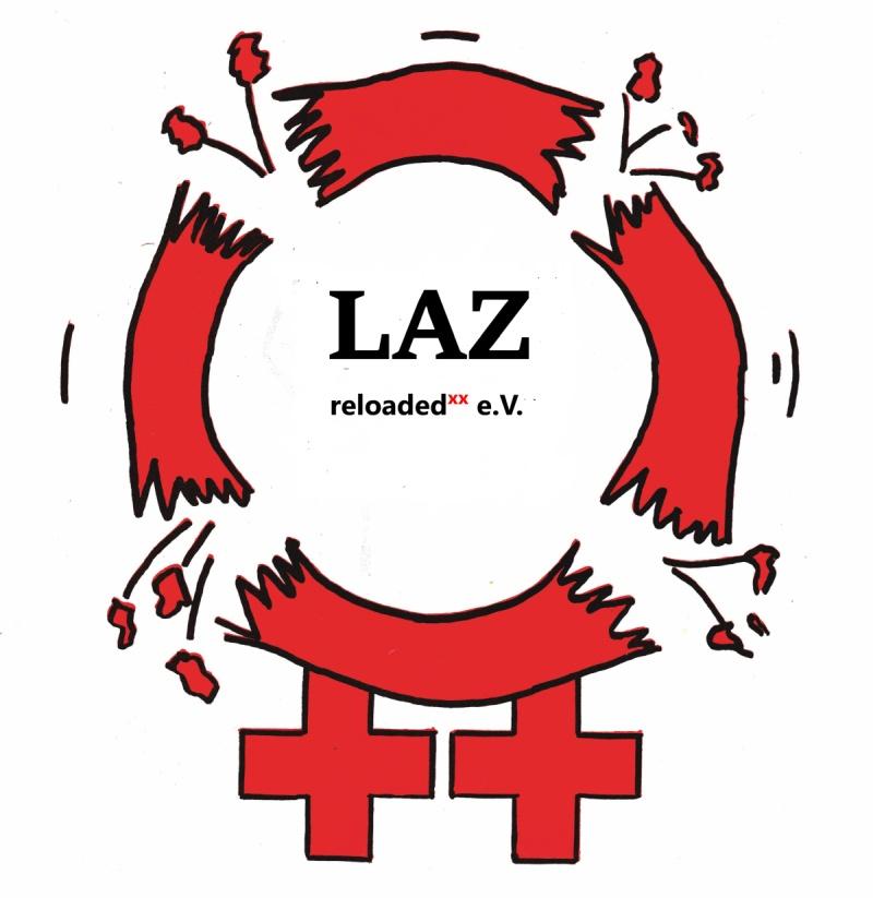 Logo LAZ reloaded - lesbisches Aktionszentrum Berlin